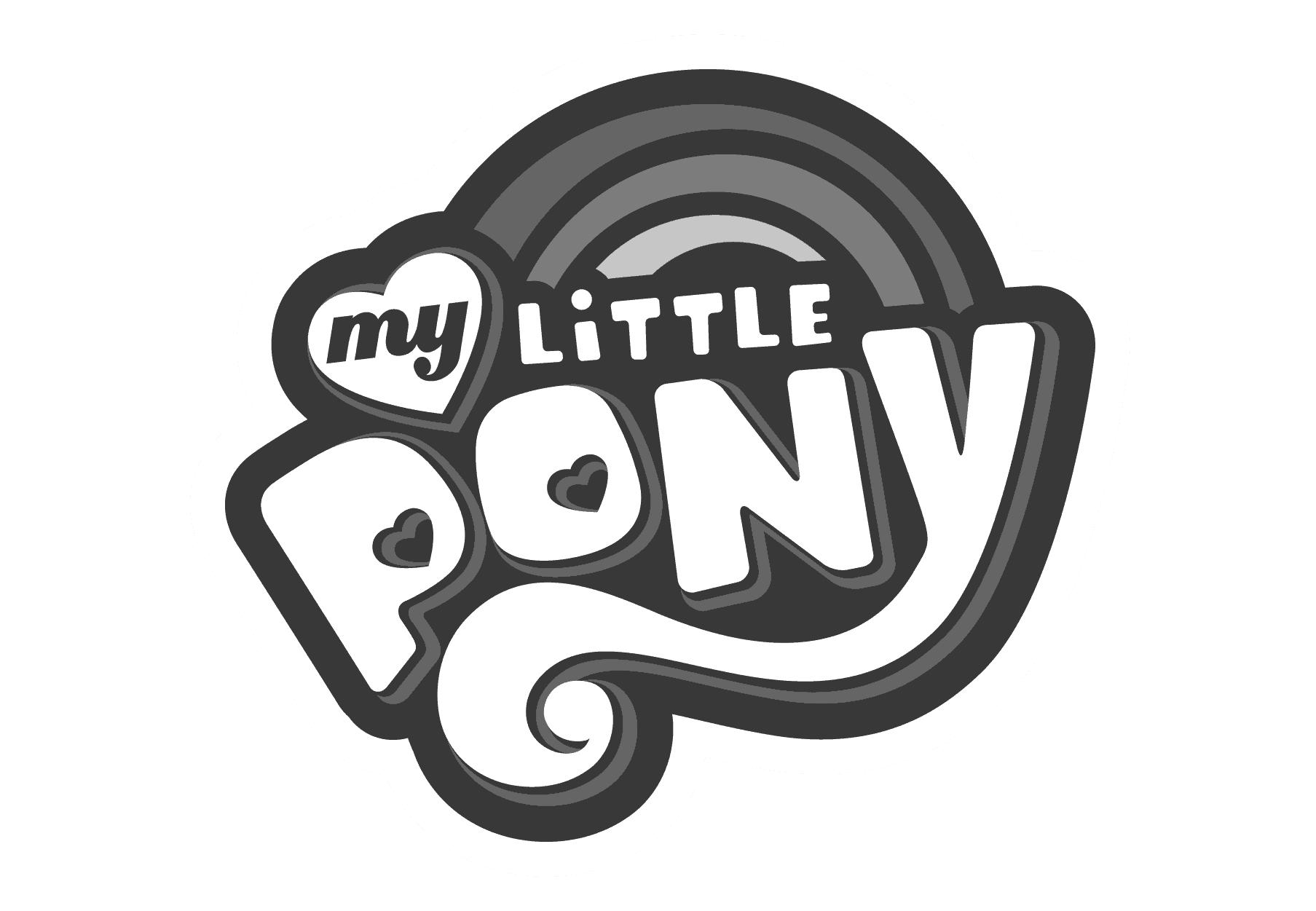 MLP logo bnw-c