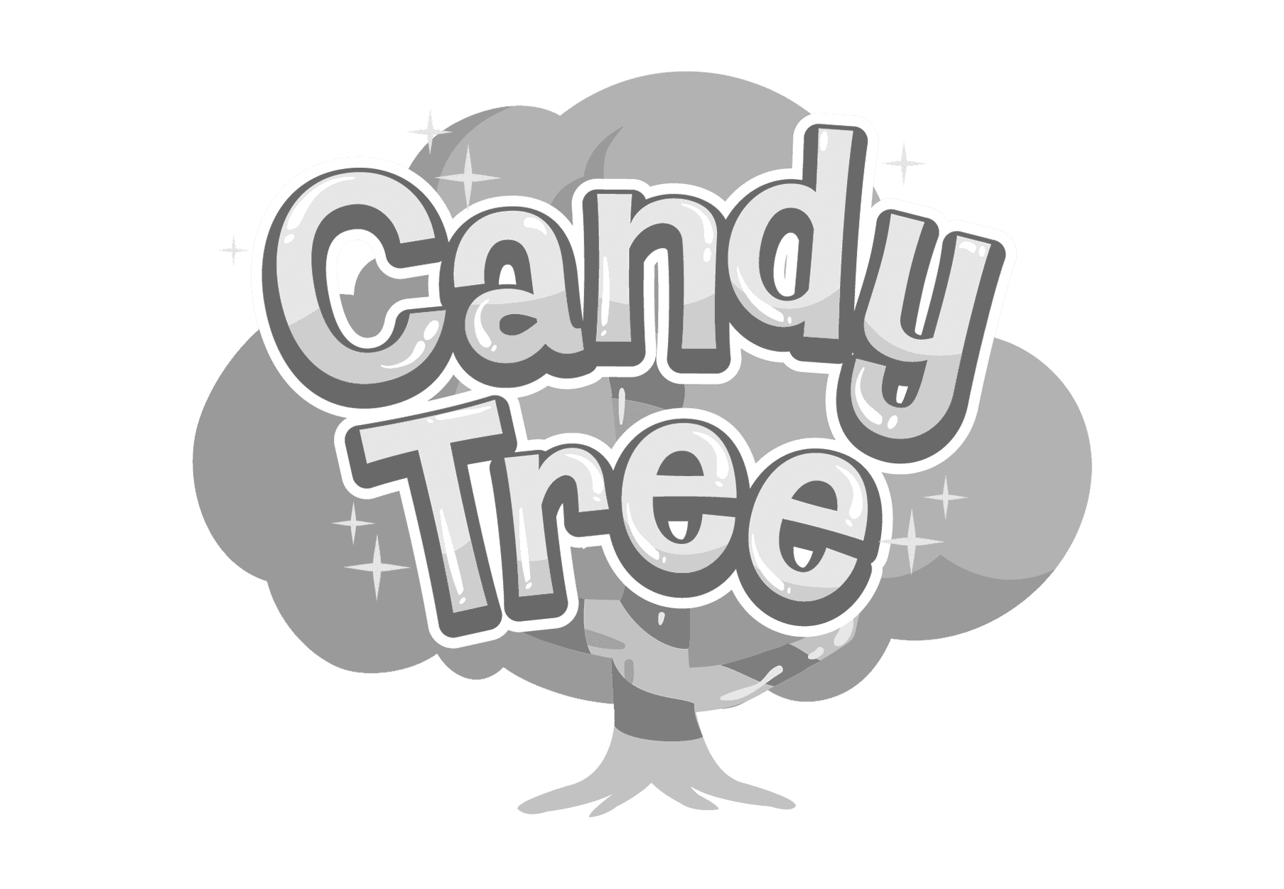 Candy Tree Logo b&w-1